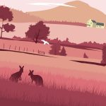 Yarra Valley Illustration Poster