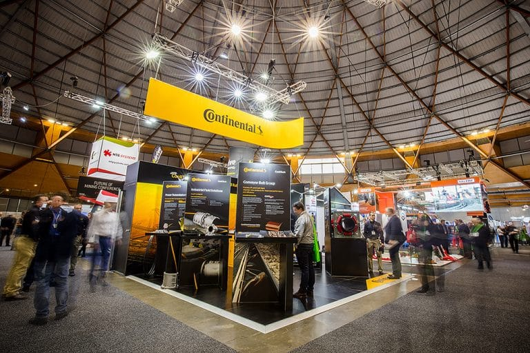 Continental ContiTech Exhibition Display 2017